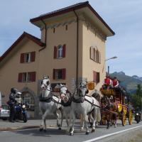Sust Lodge am Gotthard, hotel in Hospental