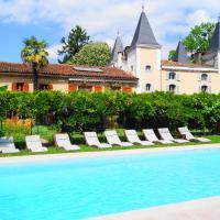Hotel Logis - Chateau de Beauregard, hôtel à Saint-Girons