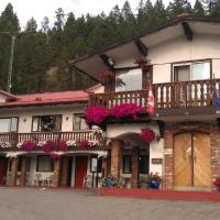 Gables Motel, hotel em Radium Hot Springs