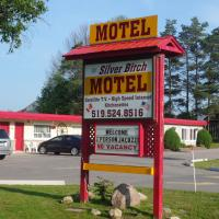 The Silver Birch Motel, hotel em Goderich