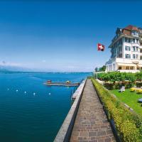 Hotel Restaurant Bellevue au Lac, hotel in Thun