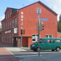 Hotel Grüner Kranz, отель в городе Рендсбург