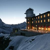 3100 Kulmhotel Gornergrat, hotel in Zermatt