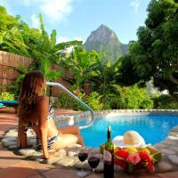 Stonefield Estate Resort, hotel in Soufrière