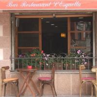 Hostal L'Esquella, hotel in Aiguafreda
