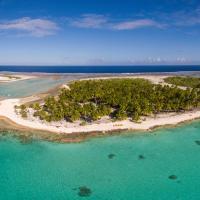 Fafarua Ile Privée Private Island, hotel in Tikehau