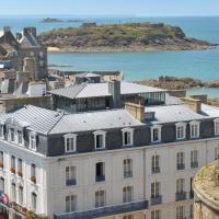 Hotel De France et Chateaubriand, отель в Сен-Мало
