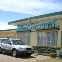 Alpine Country Motel, hotel em Cooma