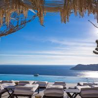 Myconian Utopia Relais & Chateaux, hotel in Elia Beach