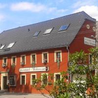 Hotel Garni Altes Wirtshaus, отель в городе Тарандт