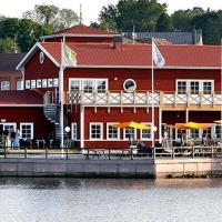 Badholmen Restaurang & Rum, hotel in Oskarshamn