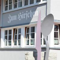 Zum Hirschen - hotel & gasthaus beim stöckeler, hotel in Scheidegg