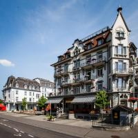 Classic Rooms by Carlton-Europe Vintage Adults Hotel, hotel in Interlaken