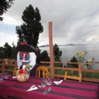 Titicaca Chaska Wasi Amantani、Amantaniのホテル