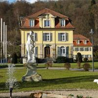 Philosophenvilla, Hotel in Staatsbad Brückenau