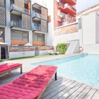 My Space Barcelona Pool Garden Apartments