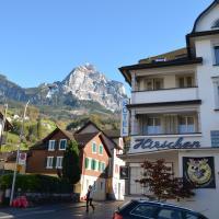 Hirschen Backpacker-Hotel & Pub, отель в городе Швиц