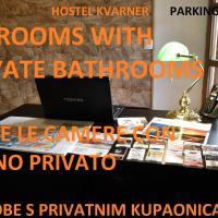 Hostel Kvarner-All private rooms with private bathrooms, hôtel à Rijeka