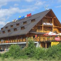 Hotel Grůň, отель в городе Мосты-у-Яблункова