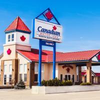 Canadian Motel North Battleford, hotel em North Battleford