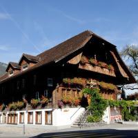 Hotel Restaurant Hirschen, hotel in Interlaken