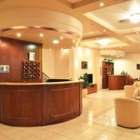 Minos , ξενοδοχείο στα Λουτρά Αιδηψού