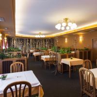 Hotel u Crlíků, отель в городе Tetčice