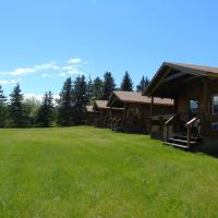 Cajun Cedar Log Cottages, hotel em Margaree Forks