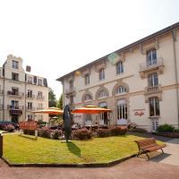 Hotels & Résidences - Le Metropole, hotel in Luxeuil-les-Bains