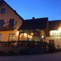 Penzion a restaurace Lemberk, отель в городе Яблонне-в-Подьештеди