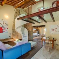 Chianti B&B Design infinity pool shared, hotell i Pianella