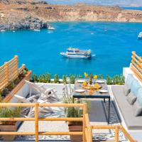 Lindos Shore Summer House with Jacuzzi and sea view !!!
