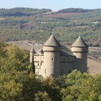 Chateau de Lugagnac, hôtel à Rivière-sur-Tarn