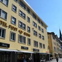 Central Hotel Post, hotel in Chur
