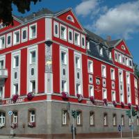 Hotel Strauss, hotel in Hof