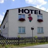 Hotel Zur Rose, отель в городе Trebbin