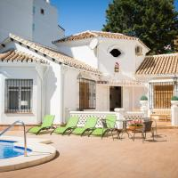 Villa in center Fuengirola with pool and close beach