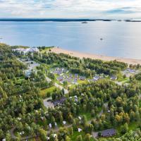 Nallikari Holiday Village Cottages, hotelli Oulussa
