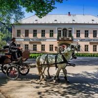 Hotel Na Zámečku, отель в городе Усти-над-Орлици