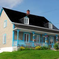 Maison de campagne le Nichouette, hotel em Les Éboulements