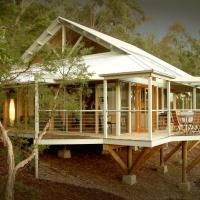 Bombah Point Eco Cottages, hotel em Bulahdelah