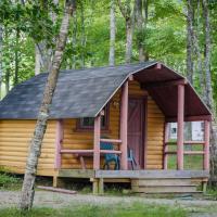 Patten Pond Camping Resort Cabin 8