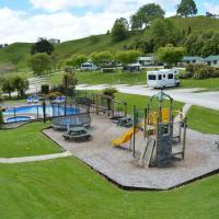 Waitomo TOP 10 Holiday Park, hotel in Waitomo Caves