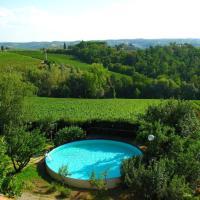 Modern Holiday Home in Montefiridolfi Italy with Pool, hotell i Montefiridolfi