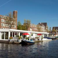 Modern Houseboat Apartment in Amsterdam with Terrace