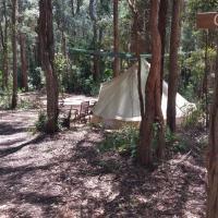 Elebanah Luxury Camping, viešbutis mieste Avoca Beach