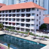 ジョムティエン プラザ レジデンス、ジョムティエンビーチのホテル