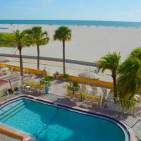 Page Terrace Beachfront Hotel, hotel in Treasure Island , St. Pete Beach