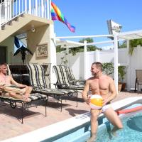 The Big Coconut Guesthouse - Gay Men's Resort, отель в Форт-Лодердейле