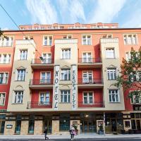 Hotel Europa City mit Teststation